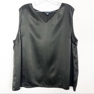 Emanuel Ungaro top 100% silk 20/50 blouse